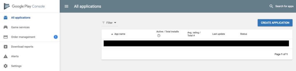 submit ứng dụng lên Google Play Store