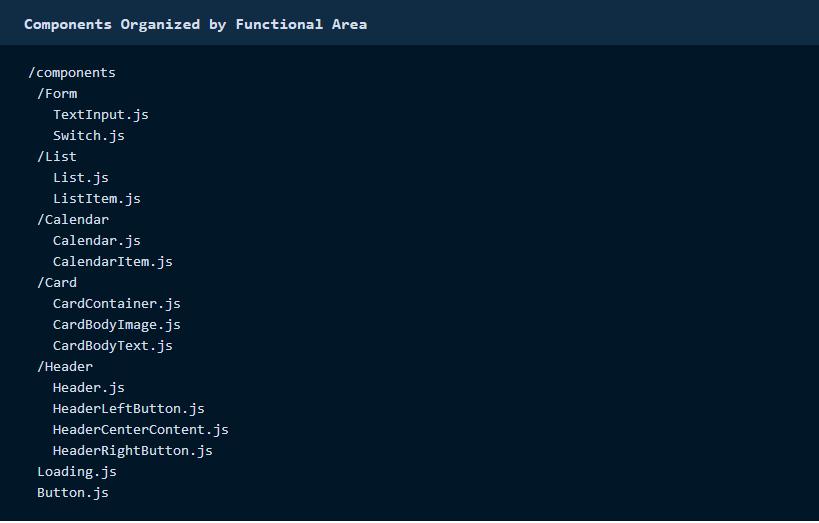 Cách tổ chức React Native Component tối ưu