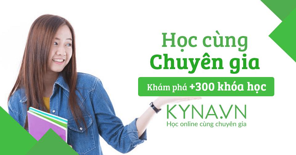 Học lập trình online với Kyna