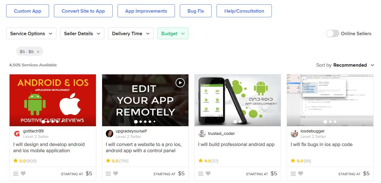 Dịch vụ viết ứng dụng mobile giá rẻ
